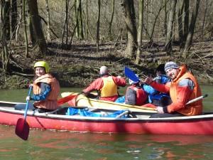 100 jarných kilometrov (Jarný splav rieky Honád)